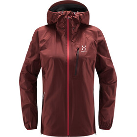 Haglöfs L.I.M Jacket Women maroon red